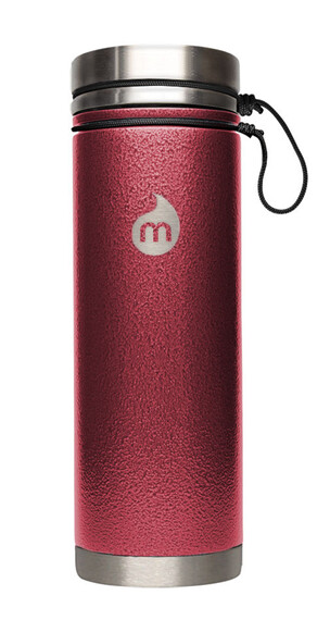 MIZU V7 Insulated Bottle 700ml Red Hammer Paint
